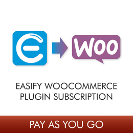 Easify WooCommerce Plugin 1 Month Subscription